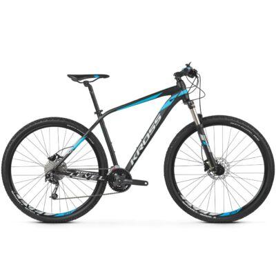 "Kross Level 4.0 29"" 2019 férfi Mountain Bike black/blue-silver"