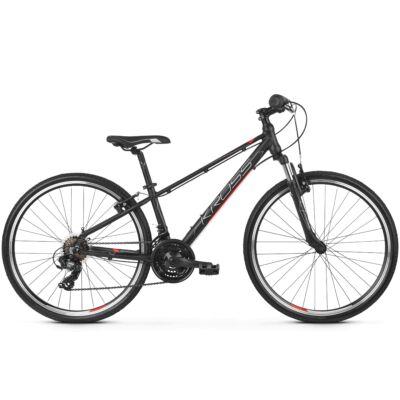 Kross EVADO JR 1.0 2020 Gyerek Kerékpár black-red-silver matte