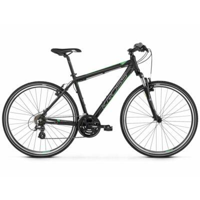 Kross Evado 2.0 2021 férfi Cross Kerékpár fekete-zöld