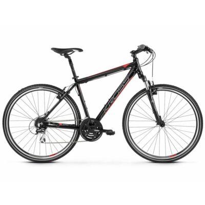 Kross Evado 3.0 2021 férfi Cross Kerékpár fekete-piros