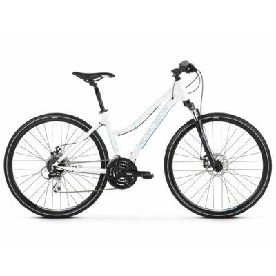 Kross Evado 4.0 2021 női Cross Kerékpár fehér-kék