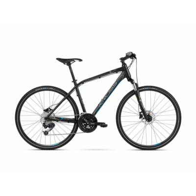 Kross Evado 6.0 2021 férfi Cross Kerékpár fekete-kék