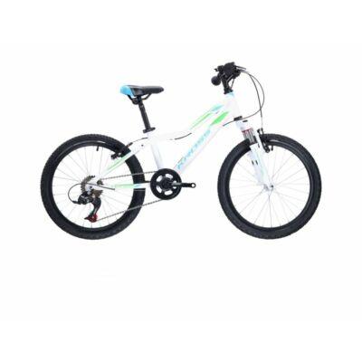 Kross Lea Mini 2.0 2021 Gyerek Kerékpár fehér-kék-zöld