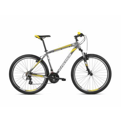 Kross Hexagon 2.0 27 2021 férfi Mountain Bike grafit-fehér-sárga