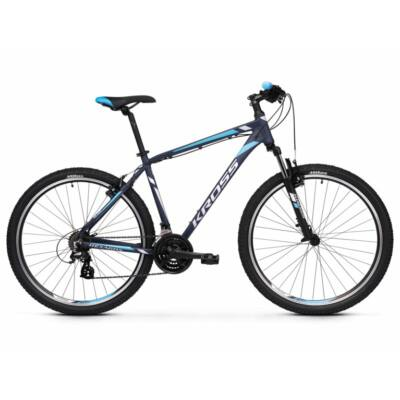 Kross Hexagon 2.0 26 2021 férfi Mountain Bike sötétkék-ezüst-kék