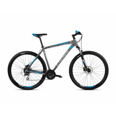 Kross Hexagon 5.0 27 2021 férfi Mountain Bike grafit-ezüst-kék