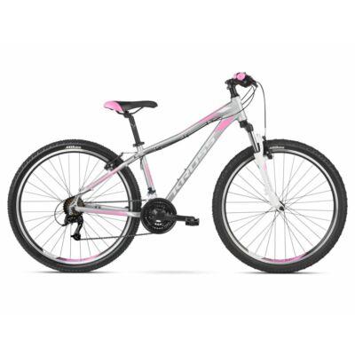Kross Lea 2.0 26 2021 női Mountain Bike ezüst-fehér-pink