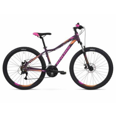 Kross Lea 3.0 26 2021 női Mountain Bike lila-pink-narancs