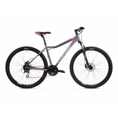 Kross Lea 5.0 29 2021 női Mountai Bike grafit-pink-lila