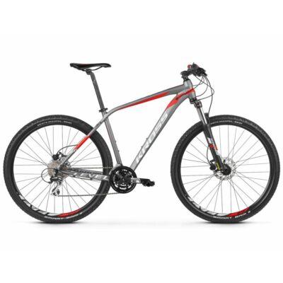 Kross Level 2.0 27 2021 férfi Mountain Bike grafit-piros-ezüst