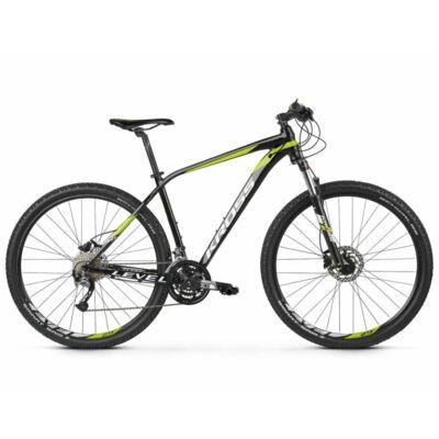 Kross Level 3.0 27 2021 férfi Mountain Bike fekete-lime-fehér