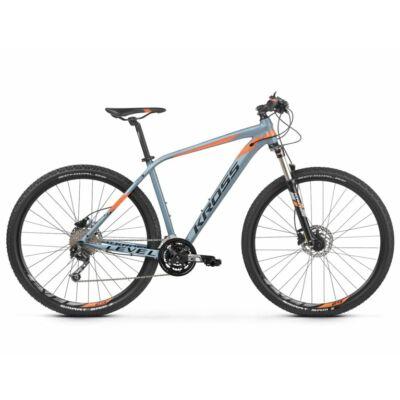 Kross Level 4.0 27 2021 férfi Mountain Bike szürke-narancs