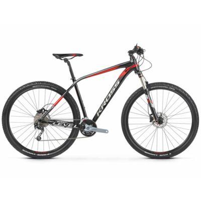 Kross Level 5.0 27 2021 férfi Mountain Bike fekete-piros-ezüst