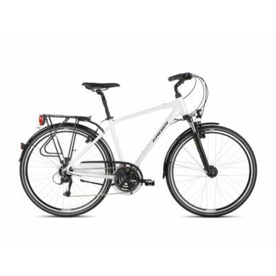 Kross Trans 4.0 2021 férfi Trekking Kerékpár gyöngyfehér