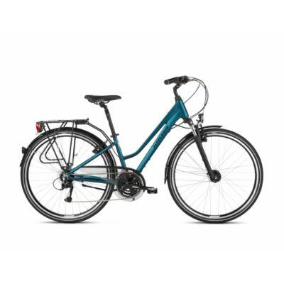 Kross Trans 4.0 2021 női Trekking Kerékpár türkiz-fehér