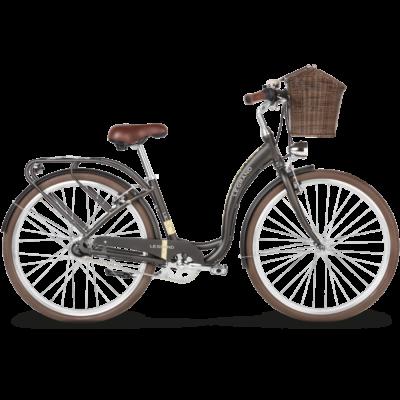 Le Grand Lille 5 2018 női City Kerékpár brown glossy