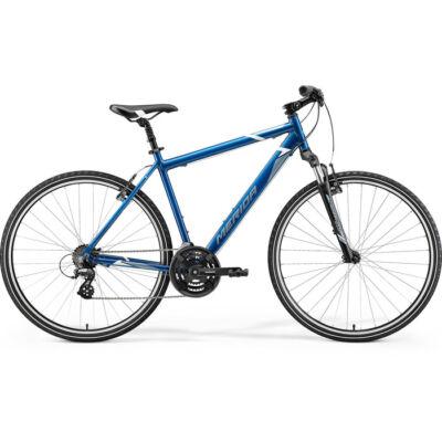 Merida Crossway 10 2021 férfi Cross Kerékpár kék (acélkék/fehér)