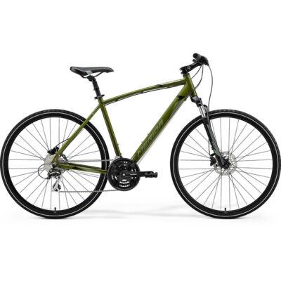 Merida Crossway 20 2021 férfi Cross Kerékpár mohazöld (ezüst-zöld/fekete)