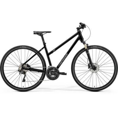 Merida Crossway XT-Edition 2021 Női Cross Kerékpár fényes fekete (matt ezüst)