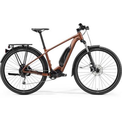 Merida eBig.Nine 300Se Eq 2021 férfi E-bike selyembronz (fekete)