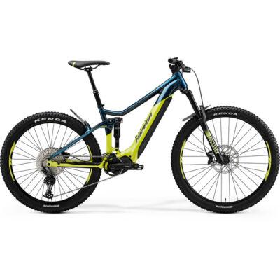 Merida eOne-Sixty 500 2021 férfi E-bike zöldeskék-kék (lime)