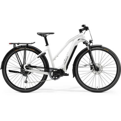 Merida eSpresso 400 S Eq 2021 női E-bike fényes fehér (fekete)