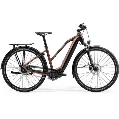 Merida eSpresso 700 Eq 2021 Női E-bike selyem bronz (fekete)