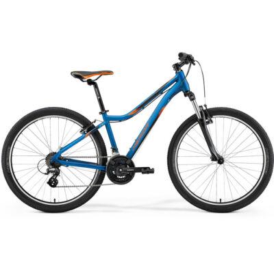 Merida Matts 6.10-V 2021 férfi Mountain Bike selyemkék (narancs)
