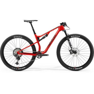 Merida Ninety-Six RC XT 2021 férfi Fully Mountain Bike fényes piros (fekete)