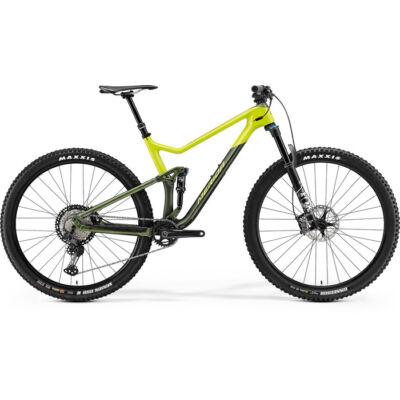 Merida One-Twenty 7000 2021 férfi Fully Mountain Bike selyem zöld-lime