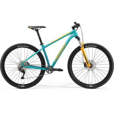 Merida Big.Nine 200 2021 férfi Mountain Bike zöldeskék-kék (narancs)