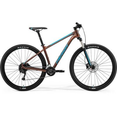 Merida Big.Nine 100-2X 2021 férfi Mountain Bike bronz (kék)