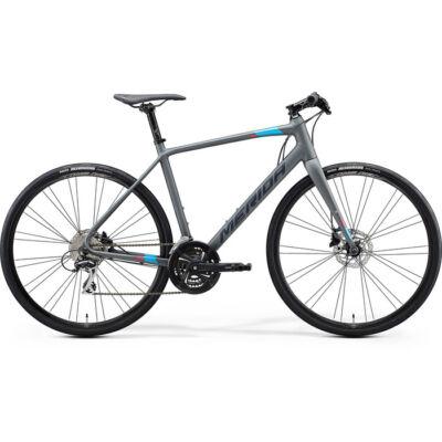 Merida Speeder 100 2021 férfi Fitness Kerékpár matt szürke (kék/piros)