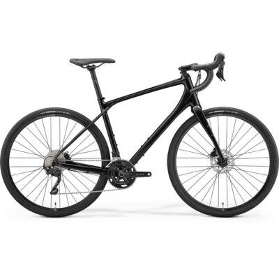 Merida Silex 400 2021 férfi Gravel Kerékpár fényes fekete (matt fekete)