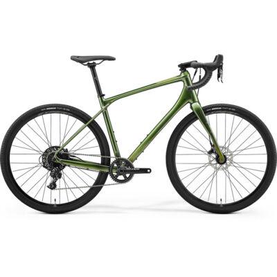 Merida Silex 600 2021 férfi Gravel Kerékpár fényes mohazöld (matt zöld)