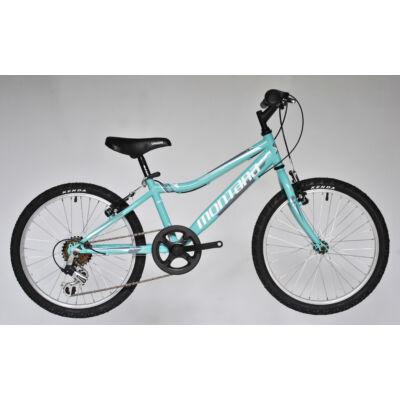Trans Montana MTB 20 acél gyerek kerékpár celeste