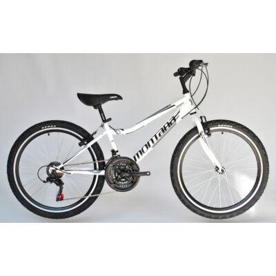 Trans Montana MTB 24 Junior gyerek kerékpár fehér/fekete