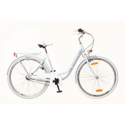 Neuzer Balaton Premium 26 N3 női City Kerékpár babyblue/kék-barna