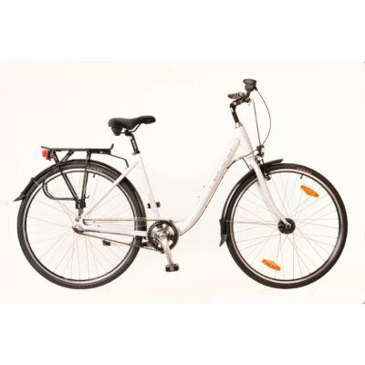 Neuzer Padova 28 N7 City Kerékpár fehér/pink