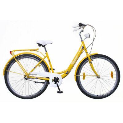 Neuzer Balaton 28 Plus N3 női City Kerékpár okker/fehér-kék