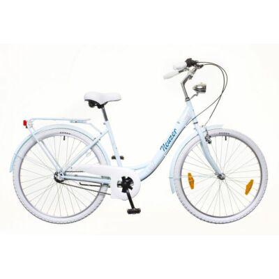 Neuzer Balaton Premium 28 N3 női City Kerékpár babyblue/kék-barna