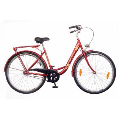 Neuzer Balaton 26 1S női City Kerékpár bordó