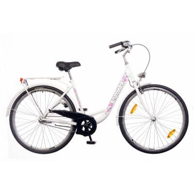 Neuzer Balaton 26 1S női City Kerékpár fehér/kék-barna