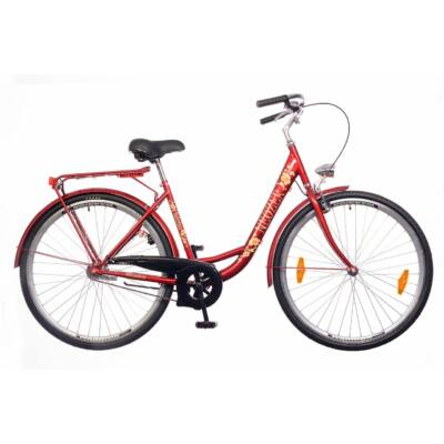 Neuzer Balaton 28 1S női City Kerékpár bordó