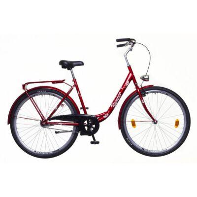 Neuzer Balaton 28 1S női City Kerékpár bordó-fehér