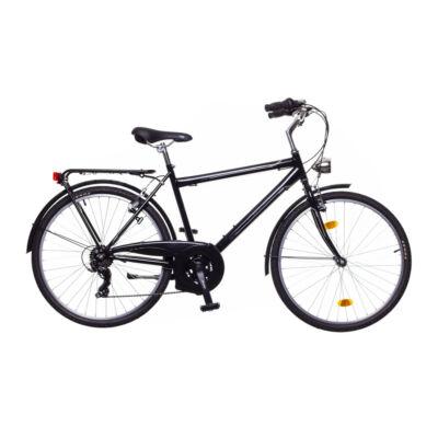 Neuzer Ravenna 30 férfi City Kerékpár fekete/szürke-fehér