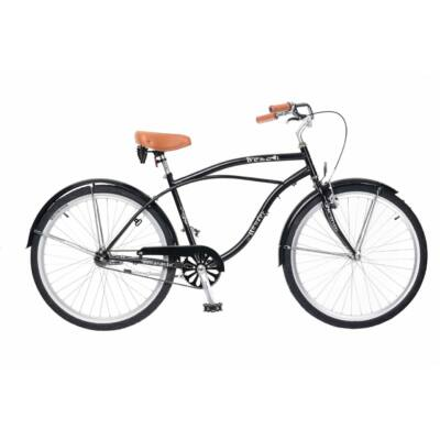 Neuzer Beach férfi Classic Kerékpár fekete