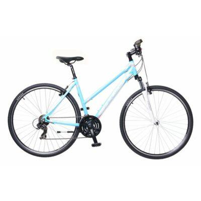 Neuzer X1 női Cross Kerékpár világoskék/fehér-rózsaszín