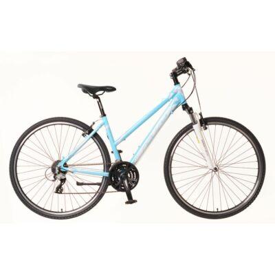 Neuzer X2 női Cross Kerékpár világoskék/fehér-rózsaszín