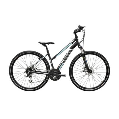 Neuzer X200 Disc női Cross Kerékpár fekete/fehér-kék